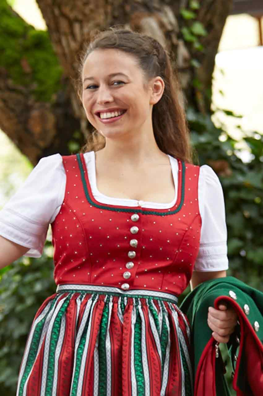 Bluse Tracht